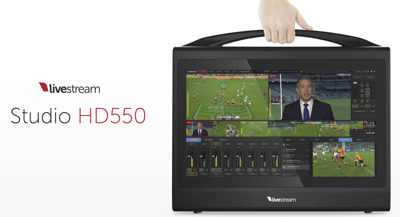 Livestream Studio HD500 Promos