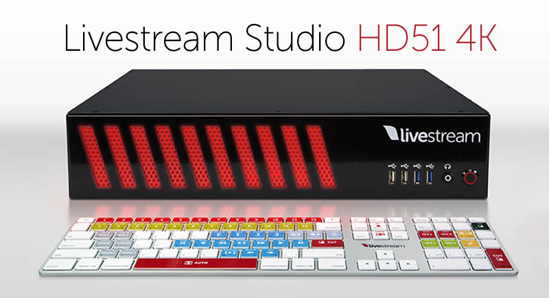 Big Savings on Livestream Studio HD51 4K Promo