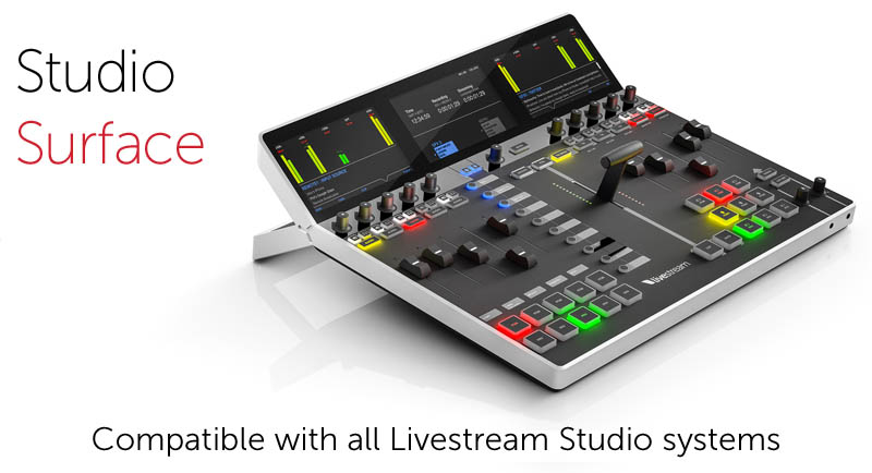 Livestream Studio Core and Studio Track