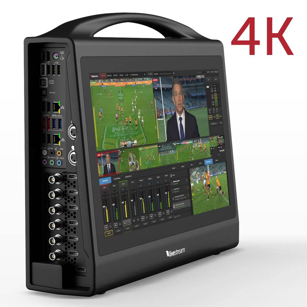 Livestream Studio HD550 4K - Ultra-Portable Switcher